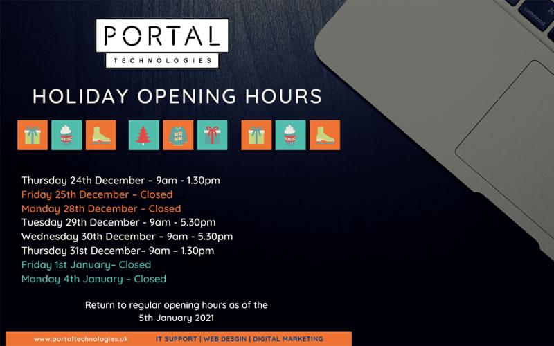 portal xmas opening