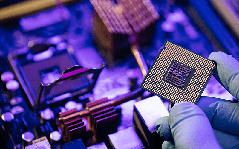 Portal Technologies global computer chip shortage